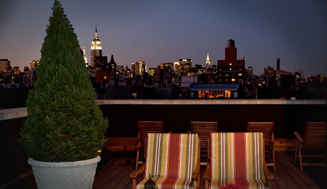 Hotel East Houston Roof Terrace New York City Sky View