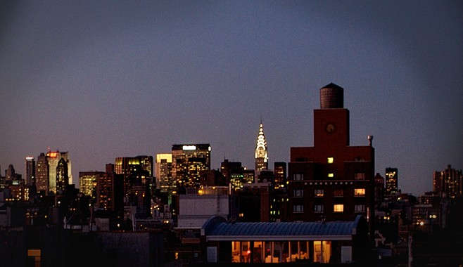 Hotel East Houston NYC Roof View